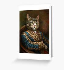 Tarjeta de felicitación The Hermitage Court Outrunner Cat