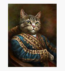 Le chat de l'Hermitage Court Outrunner Impression photo