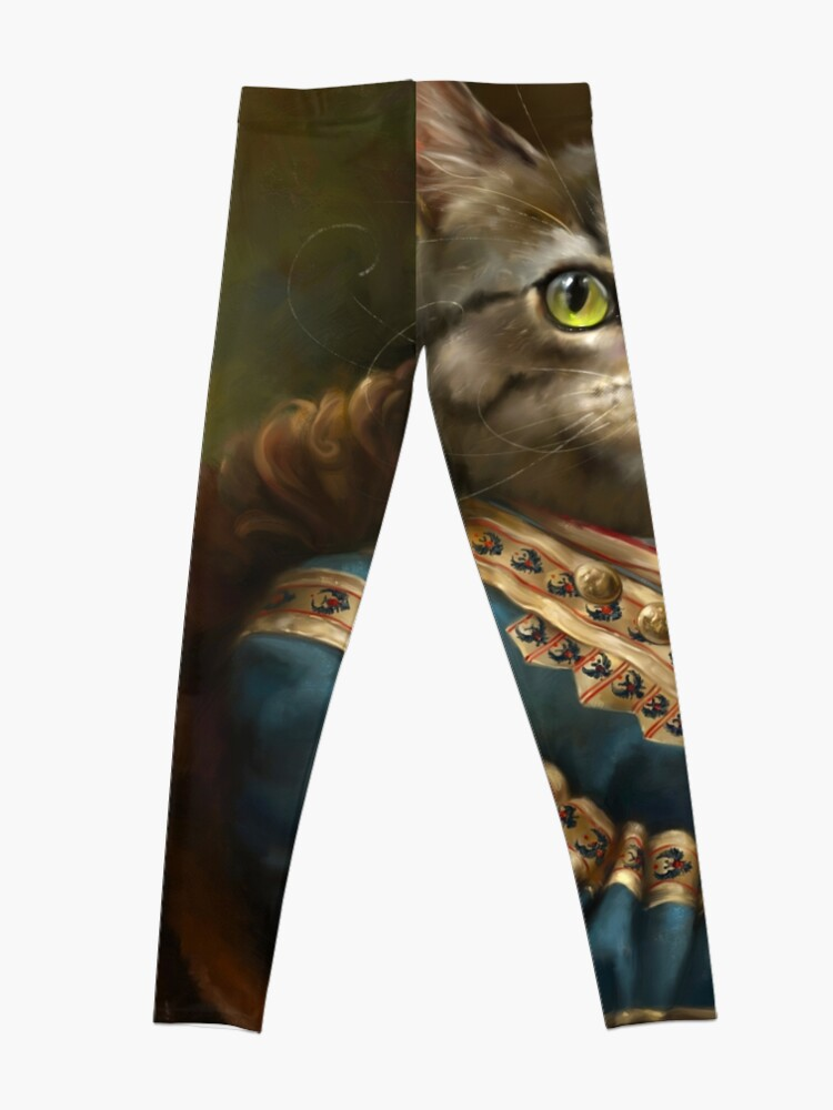 Alternate view of The Hermitage Court Outrunner Cat  Leggings
