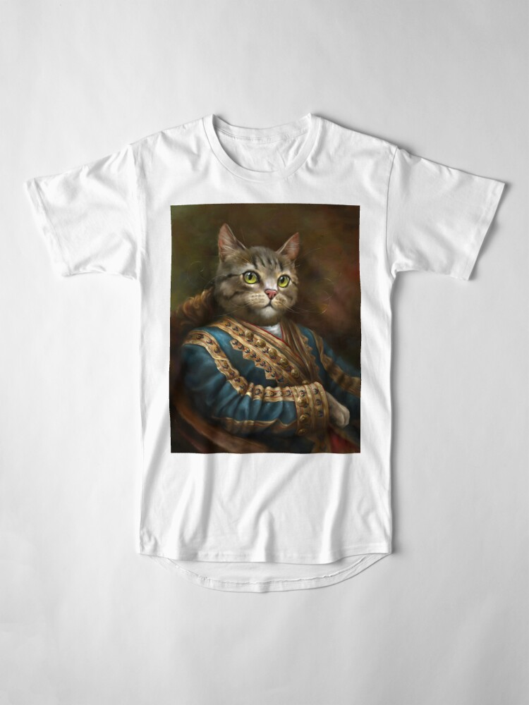 Alternate view of The Hermitage Court Outrunner Cat  Long T-Shirt