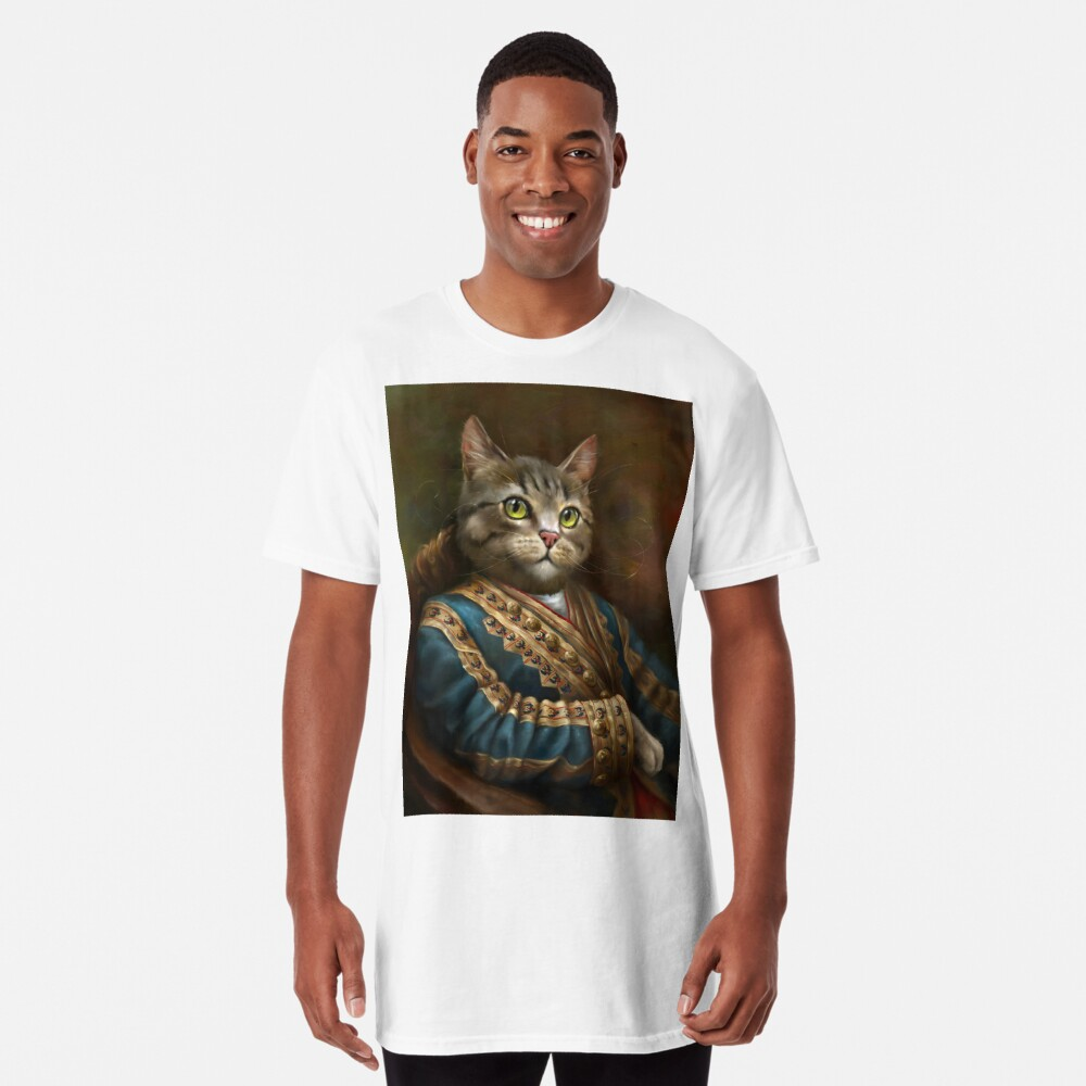 The Hermitage Court Outrunner Cat  Long T-Shirt