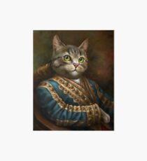 Die Hermitage Court Outrunner Katze Galeriedruck