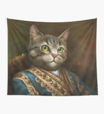 Die Hermitage Court Outrunner Katze Wandbehang