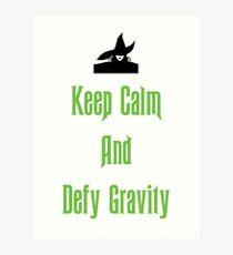 Defying Gravity - Wicked Art Print