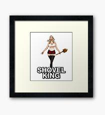 Shovel KING WW2 COD Framed Print