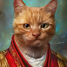 Court General Wise Cat  by Ldarro