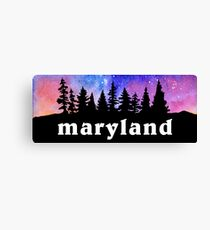 Cosmic Maryland Canvas Print