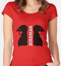 Birdman or The Unexpected Virtue of Innocence Women's Fitted Scoop T-Shirt