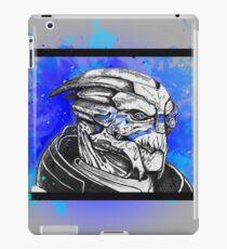 Garrus Vakarian: Mass Effect (Blue) iPad Case/Skin