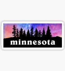 Cosmic Minnesota Sticker