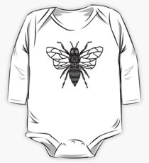 Bee Pattern (Haverford XC) One Piece - Long Sleeve