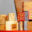 Vintage Blocks by WildestArt