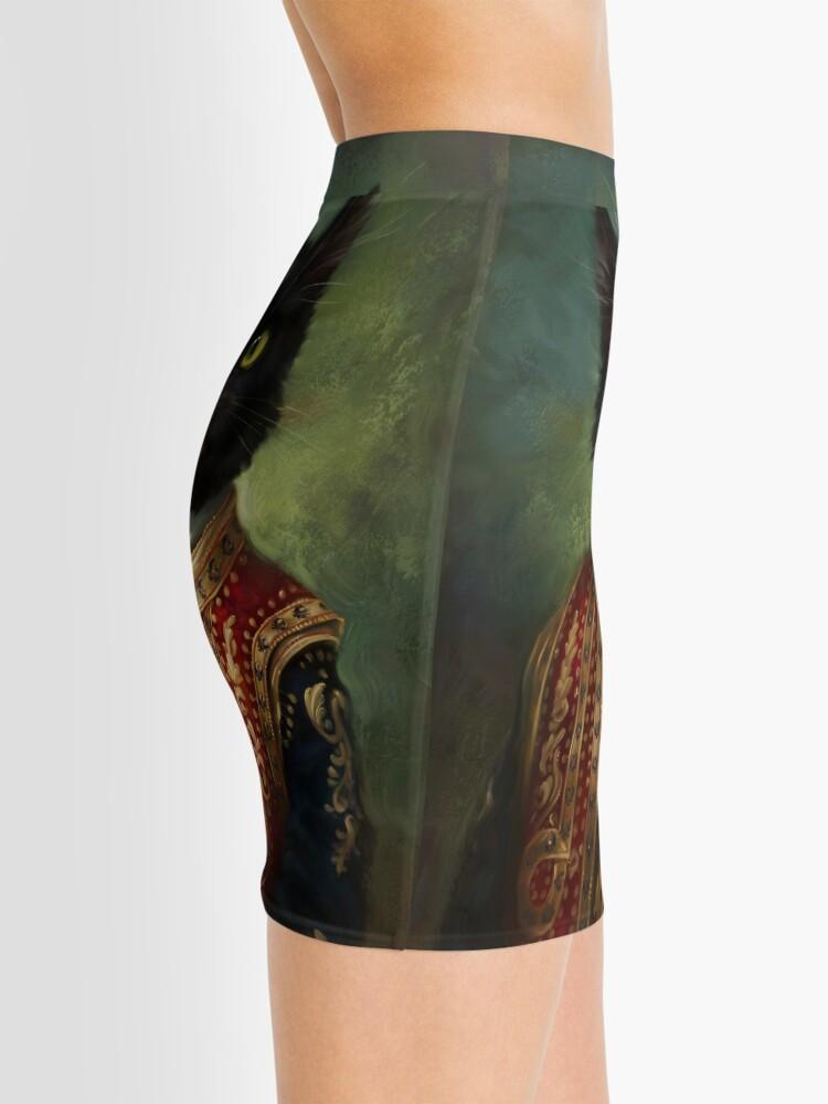 Vista alternativa de Minifalda Hermitage Court Moor en uniforme informal