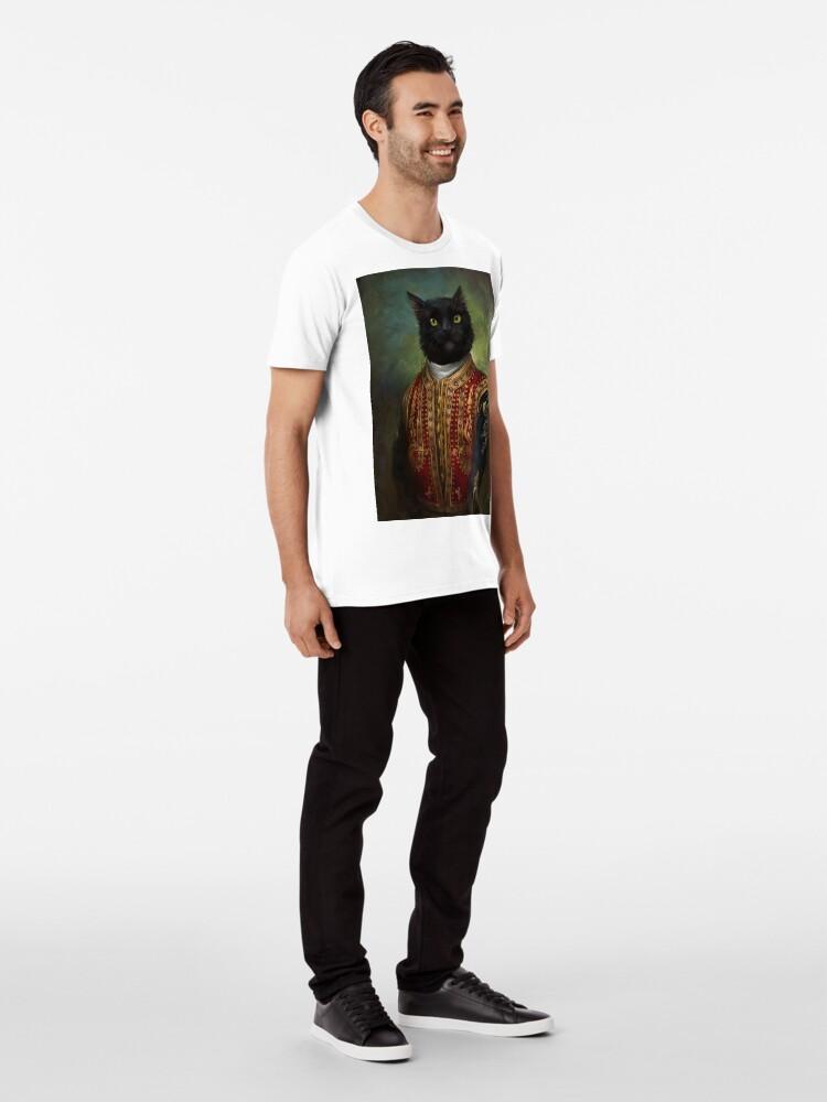 Vista alternativa de Camiseta premium Hermitage Court Moor en uniforme informal