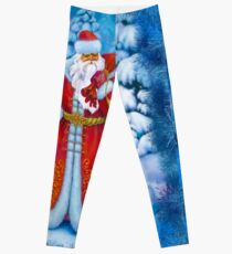 Merry Christmas with Love from Russia Leggings