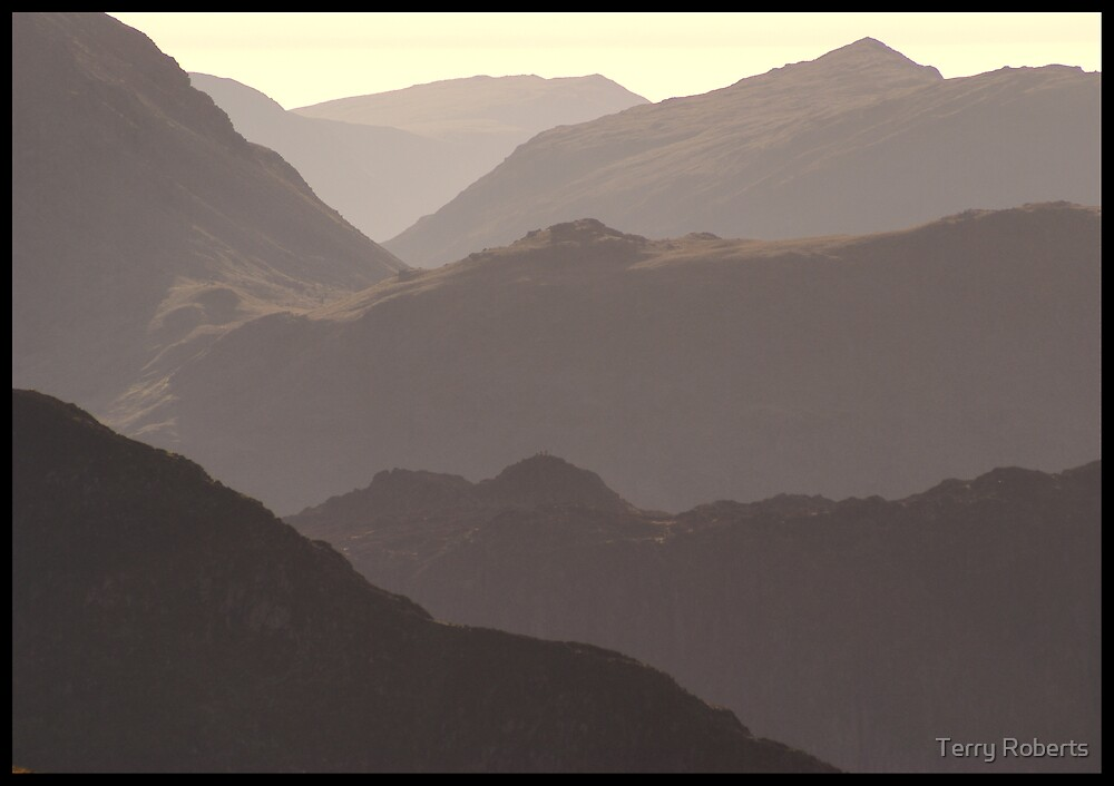 Mountains by Terry Roberts
