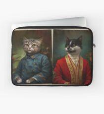 The Hermitage Court Confectioner Apprentice Cat  Laptop Sleeve