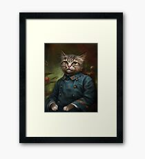 The Hermitage Court Confectioner Apprentice Cat  Framed Print