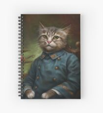 The Hermitage Court Confectioner Apprentice Cat  Spiral Notebook