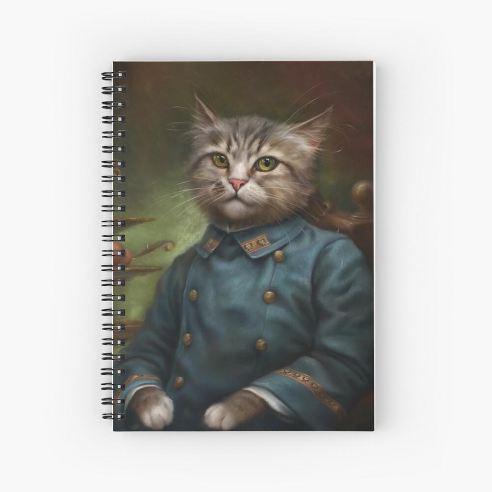 The Hermitage Court Confectioner Apprentice Cat Cuaderno de espiral