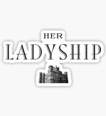 Her Ladyship Sticker