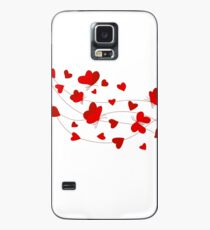 Hearts and Butterflies Case/Skin for Samsung Galaxy