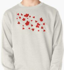 Hearts and Butterflies Pullover