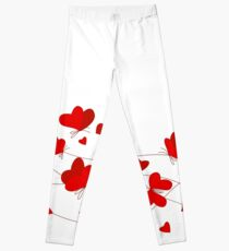 Hearts and Butterflies Leggings