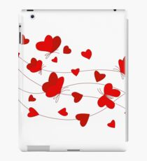 Hearts and Butterflies iPad Case/Skin