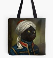 The Hermitage Court Moor Cat  Tote Bag