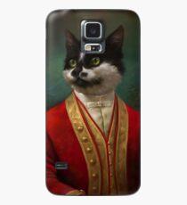 Funda/vinilo para Samsung Galaxy The Hermitage Court Camarero Gato