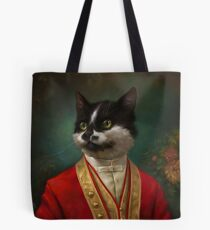 The Hermitage Court Waiter Cat Tote Bag