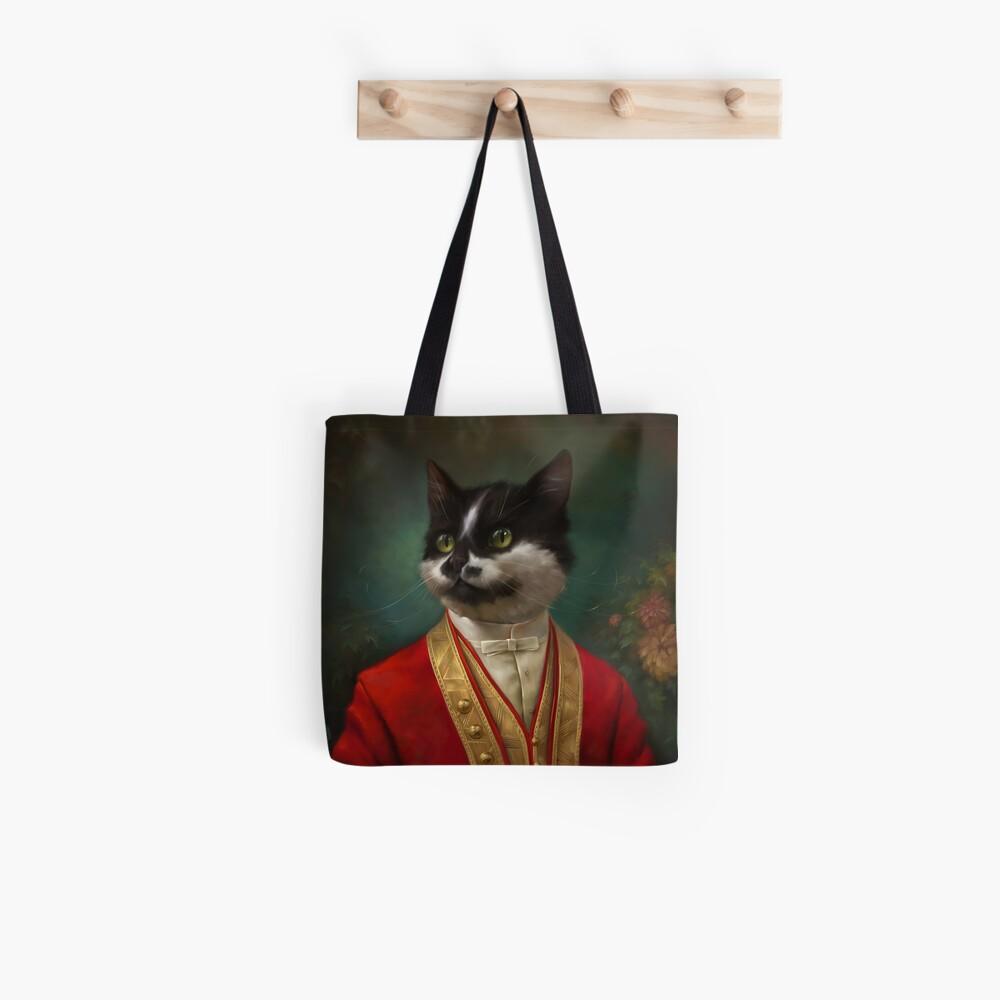 Die Hermitage Gericht Kellner Cat Tote Bag