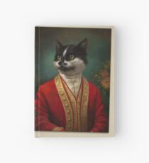 The Hermitage Court Waiter Cat Hardcover Journal