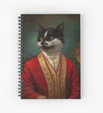 Cuaderno de espiral The Hermitage Court Camarero Gato