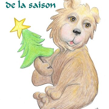 French Christmas Teddy. by oliver1680