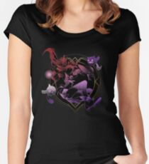 Crazy Stars Women's Fitted Scoop T-Shirt