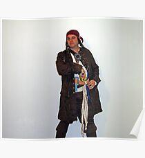 Captain Jeff Sparrow Poster