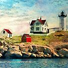 Nubble light - painted by PhotosByHealy