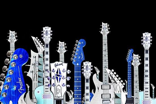 guitar city by tinncity