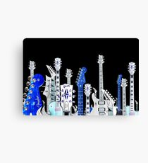 guitar city Canvas Print