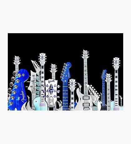 guitar city Photographic Print