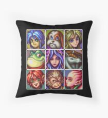 Breath of fire  Throw Pillow