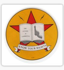 The Clash-Know Your Rights Sticker