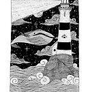 The Lighthouse- Inktober2017 by kaiteartwork