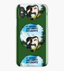 Bob Ross - Happy Accidents I iPhone Case/Skin