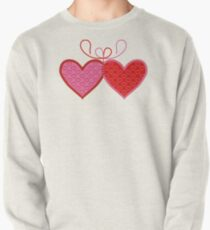 Cross-linked Hearts Pullover