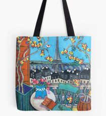 Paris From the Terrace Tote Bag