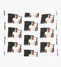 My Kind Of Man (Keanu Reeves Portrait) Wall Tapestry