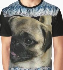 3D pug,cute puppie Graphic T-Shirt